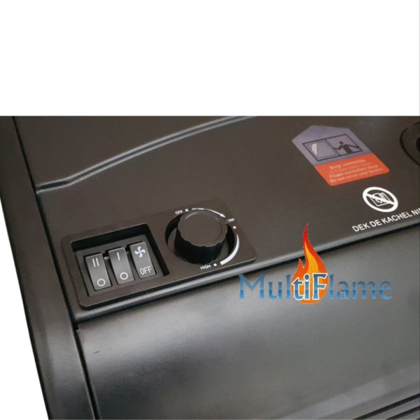 elektrische verwarming bedieningsknoppen broilfire turbo
