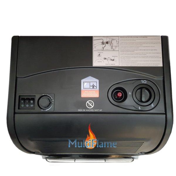 bedieningsknoppen broilfire turbo mobiele gaskachel