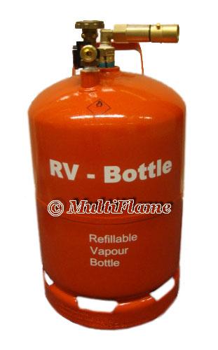 RV lpg gasdamptank hervulbare gasfles 26.5 liter