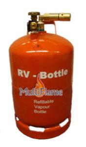 Hervulbare LPG gasdamptank RV Bottle 26,5 liter