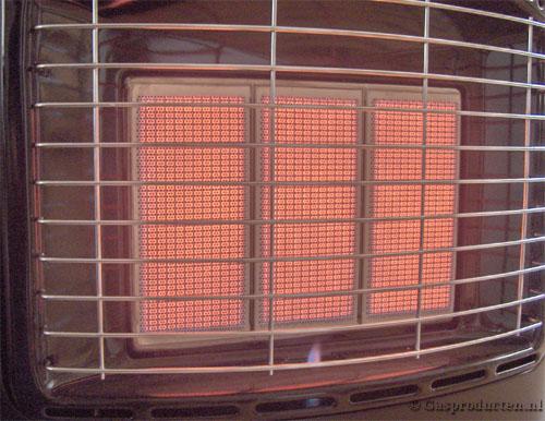 Infrarood heater voorbeeld