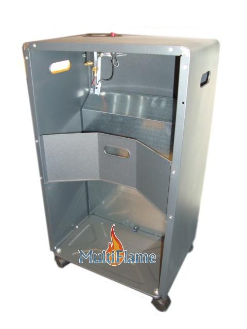 Broilfire infrarood kachel achterkant