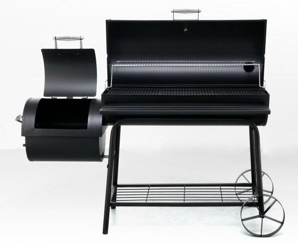 Grill en stook compartiment 21'' smoker
