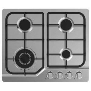 RVS inbouw propaan kookplaat 4 pits
