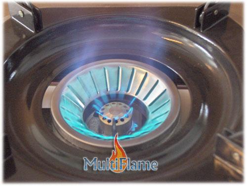 Brander vlam 1 pits krachtig kooktoestel
