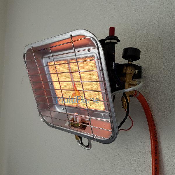 Broilfire wandstraler infrarood kachel