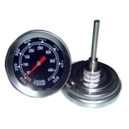 Barbecue thermometer klein rond