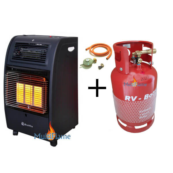 Broilfire IRV Turbo + LPG gasfles