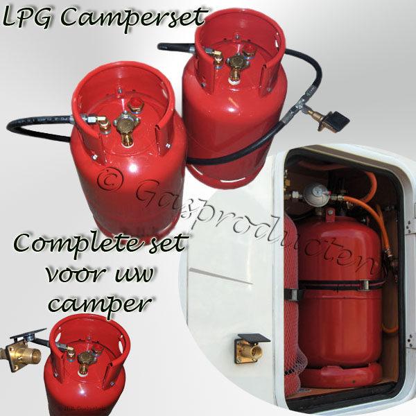 LPG camperset