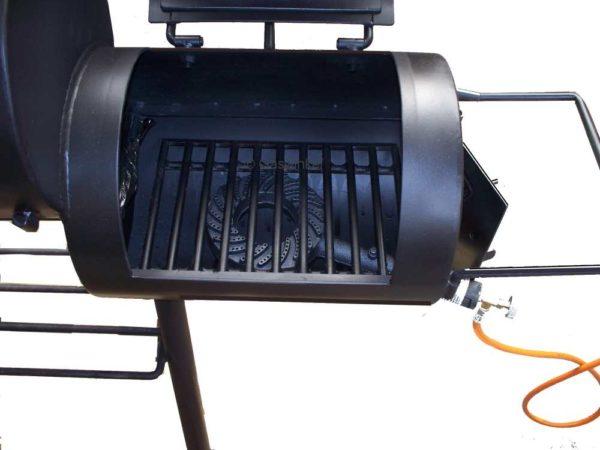 Gas brander voor de Smoker