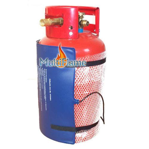 LPG fles verwarming mat
