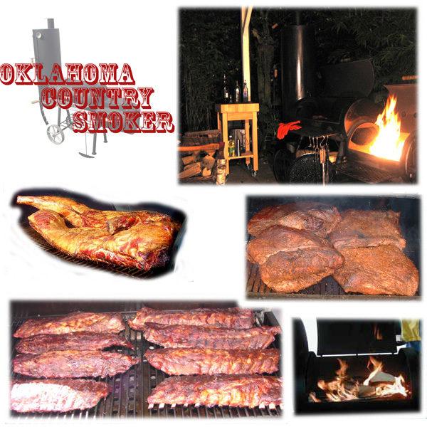 Gerechten Oklahoma Smoker