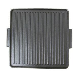 Gietijzeren grillplaat 40 cm