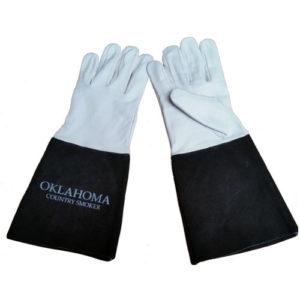Oklahoma Country Smoker kalfs lederen handschoenen