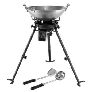 Jansberg wok brander set
