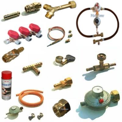 Gas onderdelen