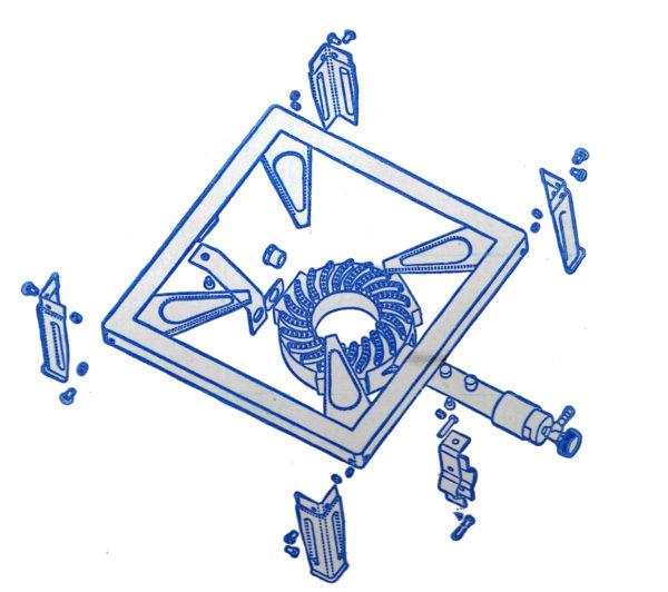 Montage voorbeeld WB004 wok brander