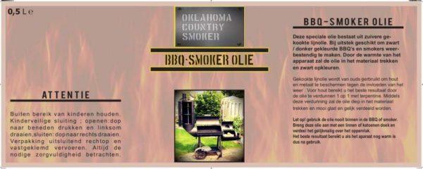 Smoker olie onderhoud