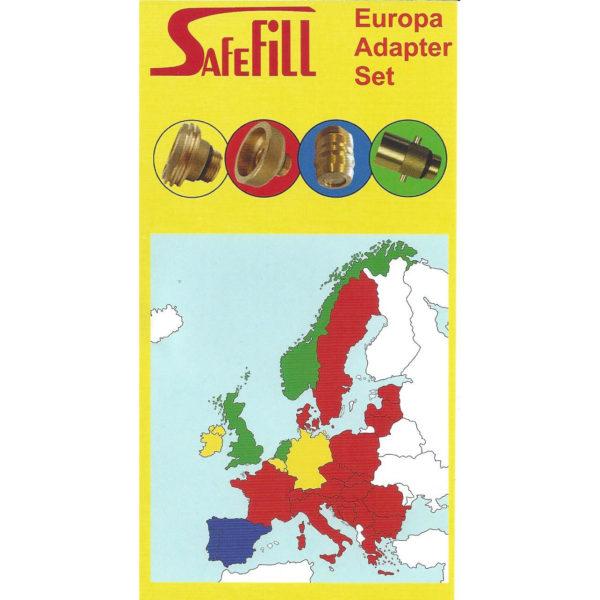 Europa set overzicht