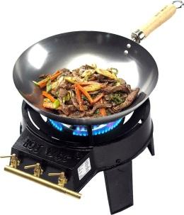 Foker Ben met wokpan