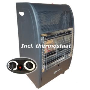 Broilfire blueflame thermostaat mobiele gaskachel
