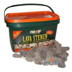 Fire up lava stenen