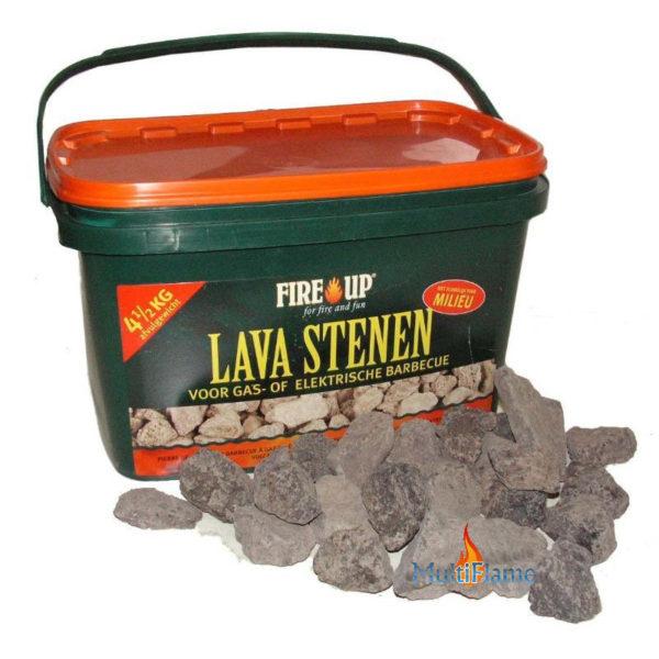 Fire up lava stenen