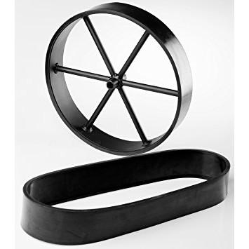 Bescherm rubbers wielen Oklahoma Joe Smoker