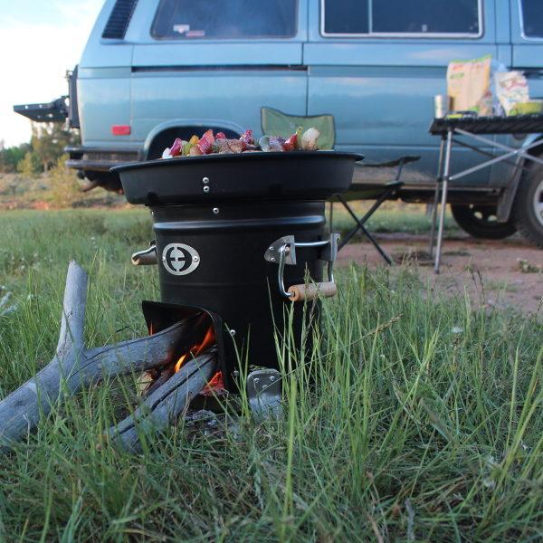 Kamperen Envirofit COOX M-5000 Hout Kooktoestel