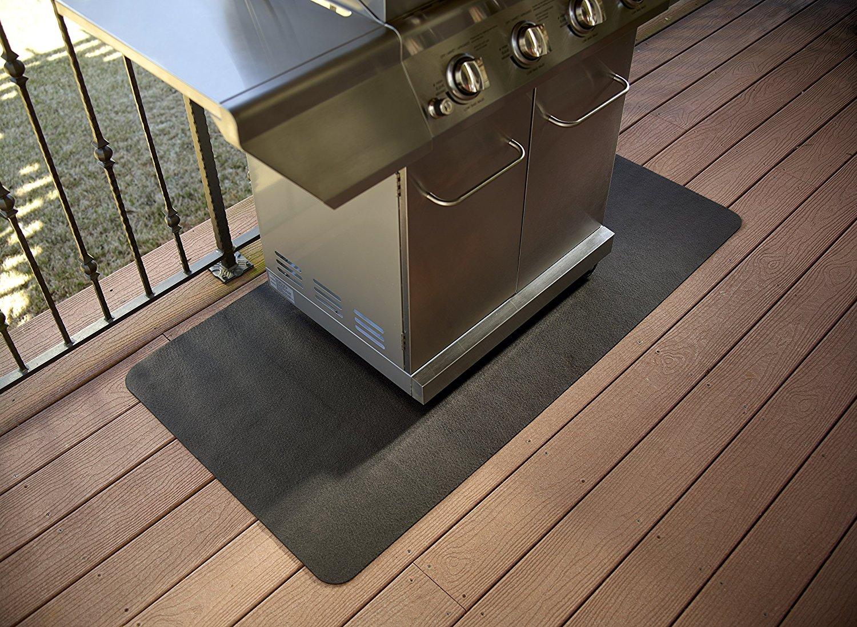 Mustang bbq grill mat terras beschermer multiflame