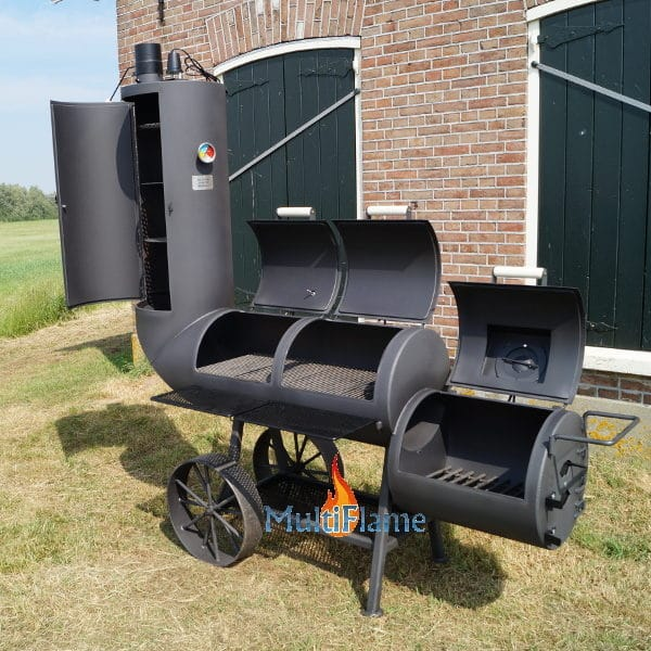 8 mm dikke Oklahoma smoker barbecue