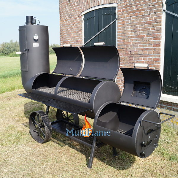 Oklahoma Country Smoker 21 inch open