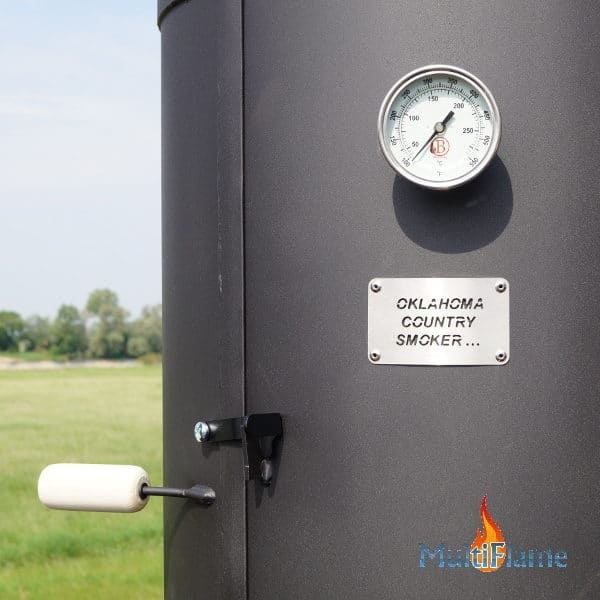 Oklahoma Country Smoker rooktoren met thermometer