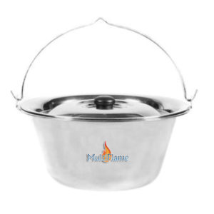 Goulash pan RVS hang pan