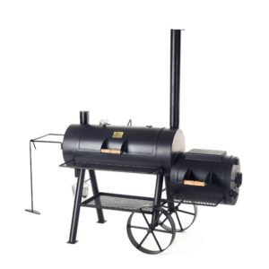 Joe's Barbecue Smoker 16 inch reverse flow