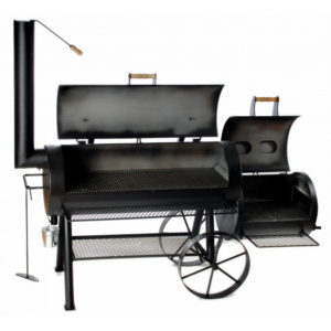 Joe Barbecue Smoker 20 inch championship longhorn