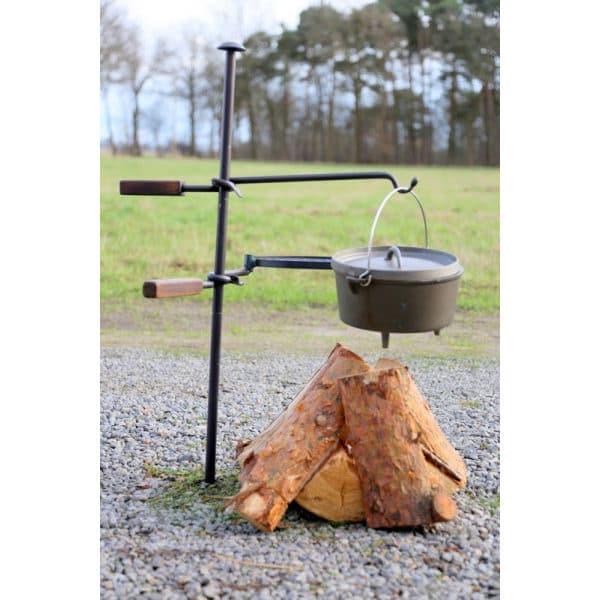 Dutch oven bushcraft gietijzeren kookpot