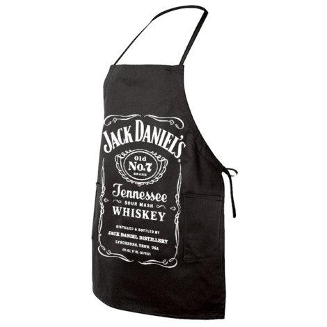 Jack Daniel's barbecue schort
