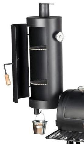 Warmhoud rook toren voor de Joe's smoker