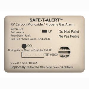 Safe-t-Alert Koolmonoxide / Gas Alarm 12V