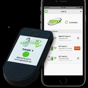 inhoudssensor bluetooth geschikt voor de smartphone