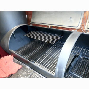 Oklahoma Country Smoker dubbel inzet rooster