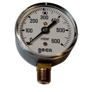 Manometer 0 - 600 mbar