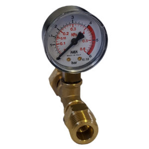 0 – 6 bar shell manometer