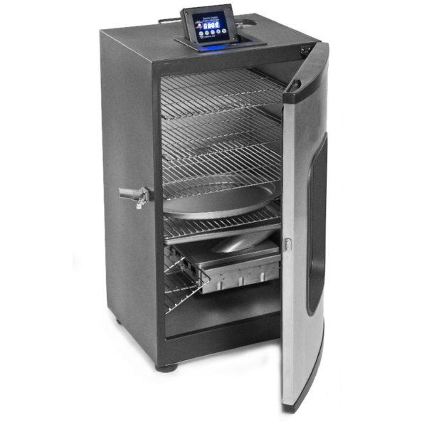 Rook oven elektrisch van Mustang groot met glazen ruit