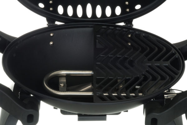 Mustang gas barbeque grill caravan brander + rooster