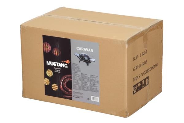 Verpakking Mustang gas grill caravan
