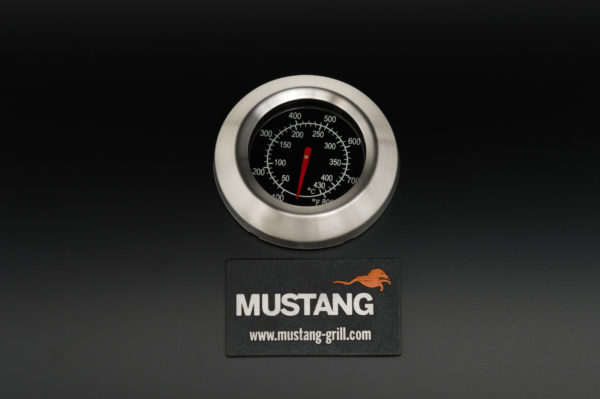 Mustang gas grill Apassi thermometer