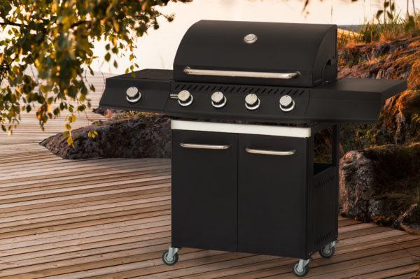 Mustang gas grill Nashville zwart