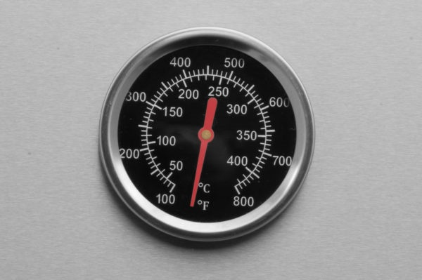 Mustang Gas Grill Ruby thermometer